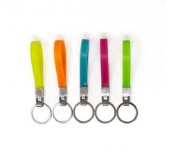 Porte-clés photoluminescents en silicone