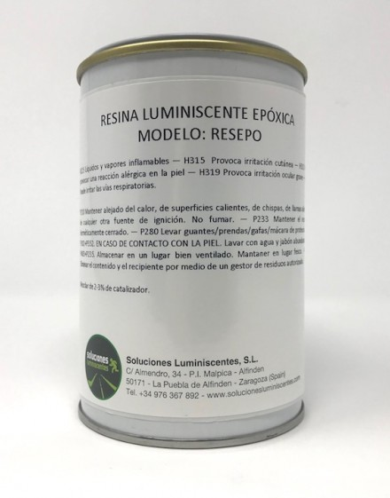 Luminescent Polyester Resin