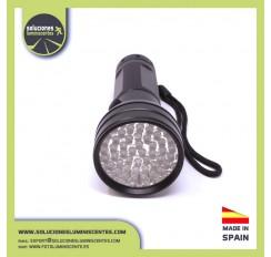 Lampe de poche professionnelle à 51 LED UV