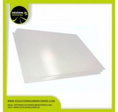 Luminescent Matte PVC Plate, 0,7mm