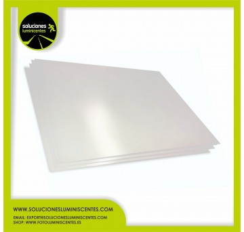 Placa de PVC MATE de 0,7mm