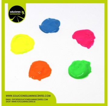 Neon Solvent Based Luminiscent Paint