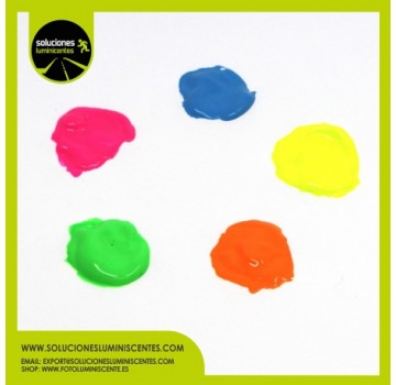 Neon Luminescent Water Based Paint