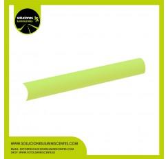 Perfil Luminiscente Curvo de PVC, 2,5 cm