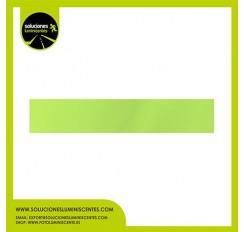 Perfil Plano Luminiscente Antideslizante de Aluminio 5cm