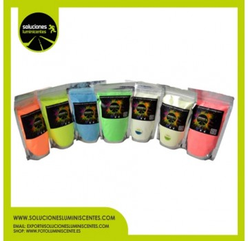 Luminescent Powder Plastic