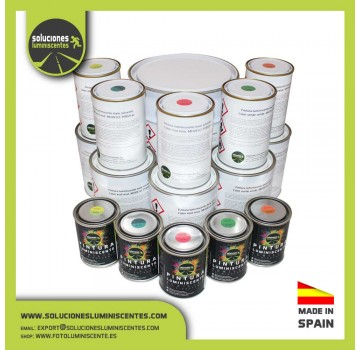 Luminescent Solvent-Based Paint