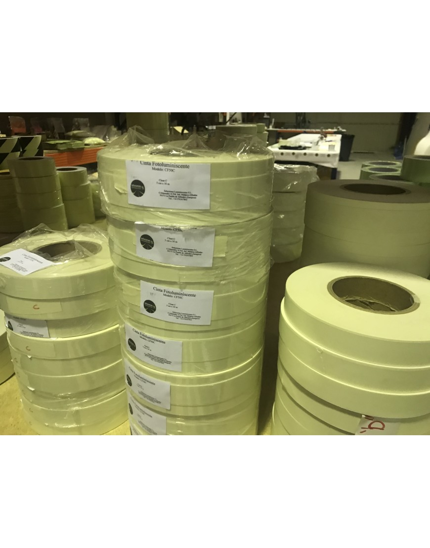 Vinyl Photoluminescence Tape Soluciones Luminiscentes S L