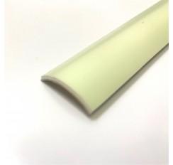 Profil luminescent courbe de PVC, 2,5 cm