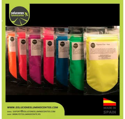 Neon Solvent Based Pigment