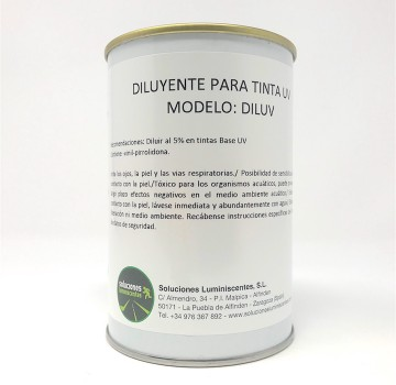 Diluent for Luminescent UV Based Ink