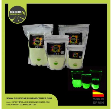 Green Luminescent High-Power Pigment XXL3