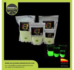 Pigmento luminiscente alta potencia verde XXL3