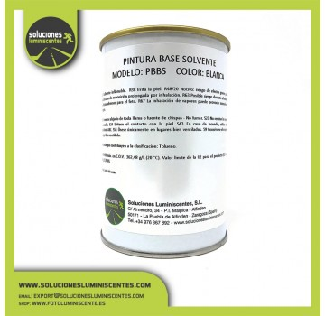 White Primer Solvent Based Paint