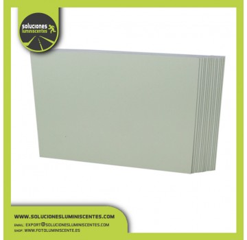 Spanish Luminescent PVC Plate