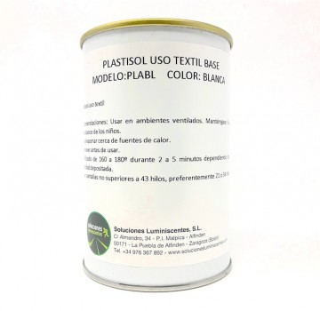 White Primer Plastisol for Textile Use