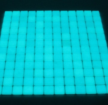 Luminescent Mosaic Tile
