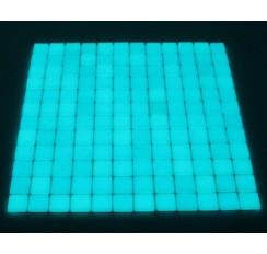 Maille de mosaïque luminescente