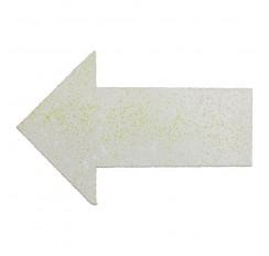 Comprimés thermoplastiquesen forme de flèche, 150X50mm