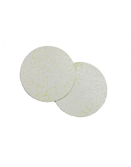 Circular Shaped Thermoplastic Tablets, 100mm in diameter