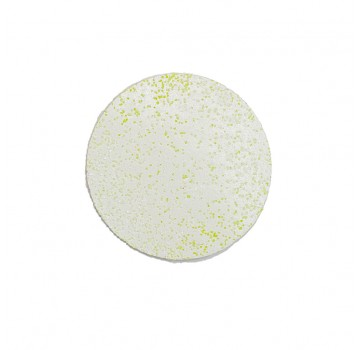 Circular Shaped Thermoplastic Tablets, 50mm in diameter