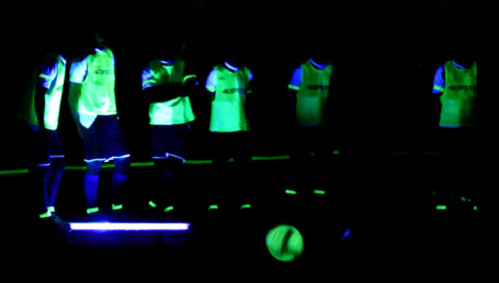 futbol luminiscente